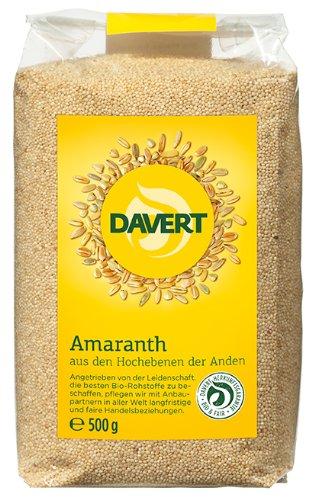 Davert Amaranth, 2er Pack (2 x 500 g) - Bio