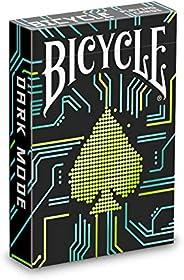 Bicycle Dark Mode Playing Cards, Black