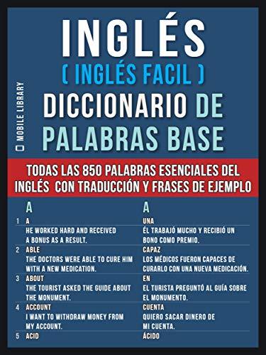 Amazoncom Inglés Inglés Facil Diccionario De Palabras