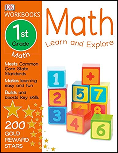Buy DK Workbooks: Math, First Grade: Learn and Explore Book Online ...