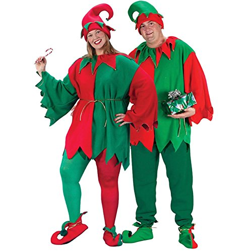 Fun World Costumes Men's Plus-Size Plus Size Elf Costume