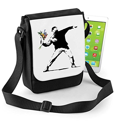 Digital Tablet Thrower Flower Reporter Bag Compatible Banksy or Mini Ipad q0ExW5RF