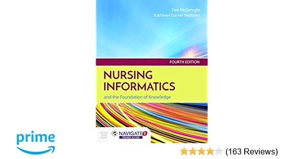 Nursing informatics and the foundation of knowledge 9781284121247 nursing informatics and the foundation of knowledge 9781284121247 medicine health science books amazon fandeluxe Images