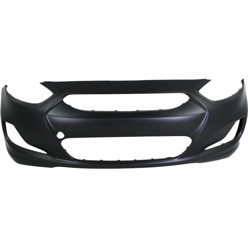 New Evan-Fischer EVA17804022013535 Front BUMPER COVER Primed Direct Fit OE REPLACEMENT for 2012-2013 Hyundai Accent *Replaces Partslink HY1000188