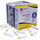 Dynarex SensiLance Safety Lancets Button Activated 26g St 10/100/Cs