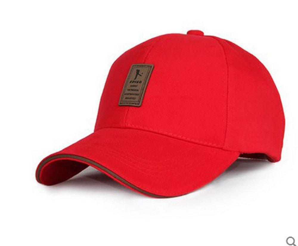 1 x Outdoor Sports Cap - Men / Women Adjustable Baseball Cap / Lengthening Brim Sun Hat / Fashion Cap For Running / Cycling / Bicycle Racing / Fishing / Hiking / Mountaineering / Camping / Traveling / Walking- Black Chear