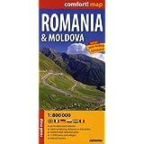 ROUMANIE/MOLDAVIE  1/800.000
