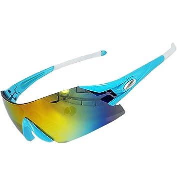 Elegante Gafas de Sol Ciclismo Polarizadas Gafas Deportivas Anti - UV Contra el viento Súper Liviana Anti - niebla: Amazon.es: Deportes y aire libre
