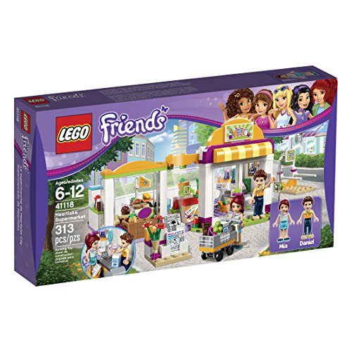 Bottle 6 Trolley - LEGO Friends Heartlake Supermarket 41118