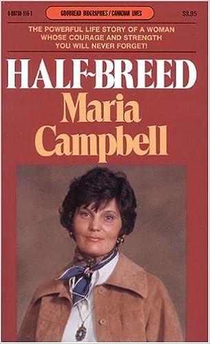 Halfbreed maria campbell essay examples