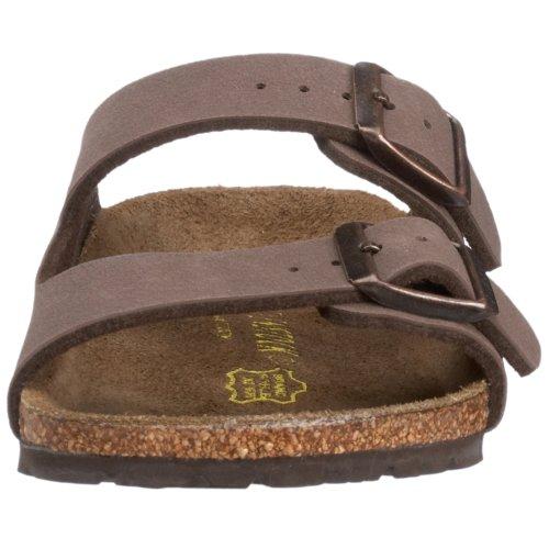 Birkenstock Arizona Unisex Birkibuc Sandal Mocha Birkibuc t5U5mLNn