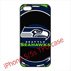 Designed iPhone 5/5s TPU Cases Seahawks team logo by hiphonecases