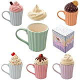 Puckator Cutesy Cupcake Ceramic Mug With Lid By Puckator
