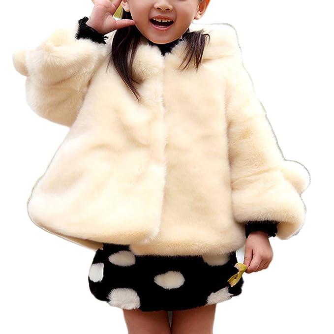 finest selection 600cd 24818 LaoZanA LaoZanA Kinder Mädchen Prinzessin Mantel Jacke ...