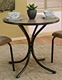 Sunset Trading Linen Dinette Table, Brown