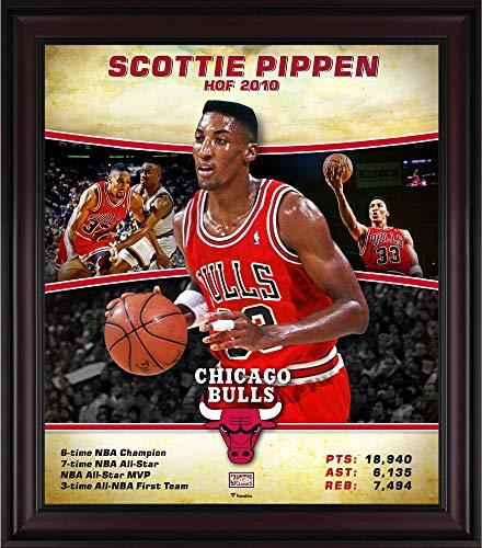 Scottie Pippen Chicago Bulls Framed 15
