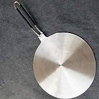 CUHAWUDBA 2 Piezas Placa de Adaptador de InduccióN de Acero Inoxidable para Cocina de InduccióN Cafetera Leche Cafetera ElectromagnéTica 7.5 Pulgadas con Difusor de CoccióN Caliente: Amazon.es: Hogar