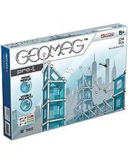 Geomag Skyline New York Gra Budynki magnetyczne, wielokolorowe, 174 sztuki