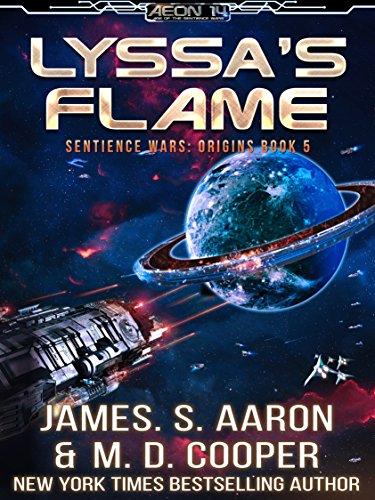 Lyssa's Flame - A Hard Science Fiction AI Adventure (Aeon 14: The Sentience Wars: Origins Book 5)