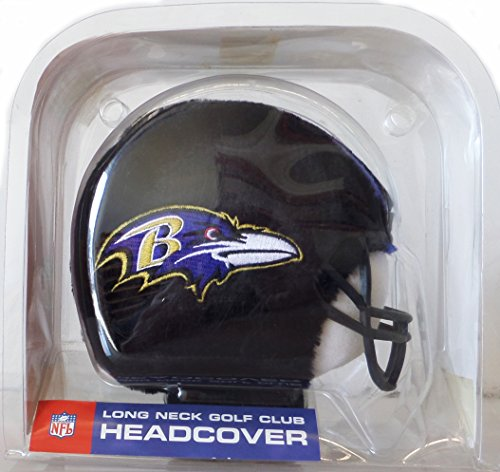 Baltimore Ravens NFL Long Neck Golf Club Head Cover -