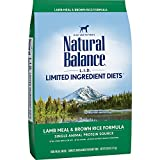 Natural Balance L.I.D. Limited Ingredient Diets Dry Dog Food, Lamb Meal & Brown Rice Formula, 28-Pound Review