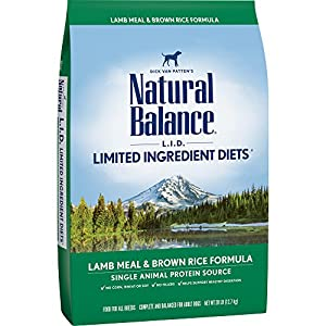 Natural Balance Limited Ingredient Diets Lamb Meal & Brown Rice Formula Dry Dog Food, 28 Pounds 42