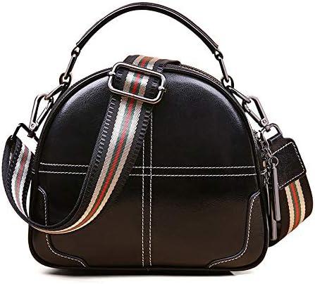 バッグ - 二層牛革/合成皮革、ファッションスタイルパンクレディースハンドバッグ、ショルダーバッグ/ショルダーバッグ、大容量/ソフト/ウェアラブル(22x9x18.5cm) よくできた