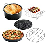 Air Fryer Accessories 7' for Gowise Phillips Cozyna Fit all 3.7QT-5.3QT-5.8QT, Set of 5