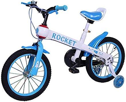 Riscko Modelo Rocket - Bicicleta para Niño y Niña, con Ruedas de 12 Color Azul: Amazon.es: Deportes y aire libre