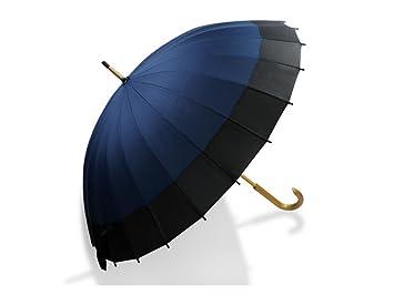 paraguas Mango de madera paraguas paraguas doble paraguas hombres negocio empalme paraguas curva soleado lluvia paraguas