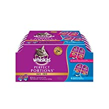 Whiskas Perfect Portions Seafood Selections Multipack, 12 Trays/75g