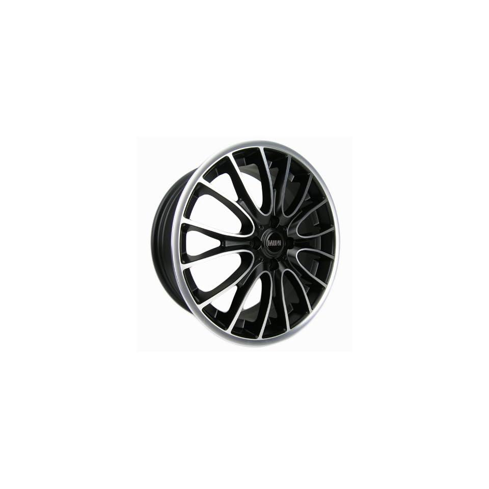 Sportrak   17 GLOSS BLACK / MACHINE FACE WHEELS MINI COOPER S
