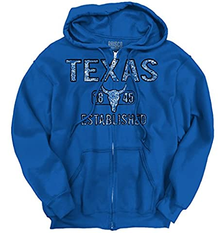 Texas State Pride T Shirt State Flag USA Longhorn Shirt Gift Zip Hoodie (Hoodies Texas)
