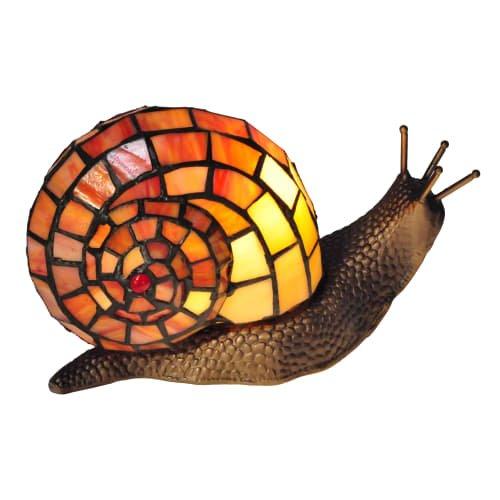 Dale Tiffany TA15173 Tiffany Snail Single Light 6