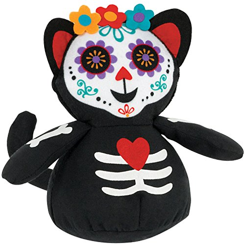 Day of the Dead Cat Plush -