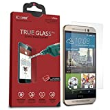 iCarez HTC One M9 Screen Protector [Tempered Glass] Premium Quality [1-Pack] - Retail Packaging
