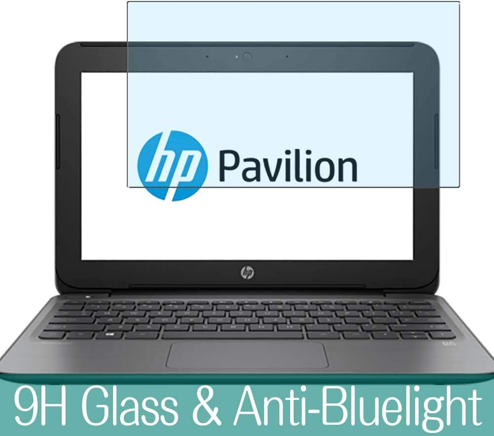 "Synvy Anti Blue Light Tempered Glass Screen Protector for HP Pavilion 11-s000 / s003tu / s002tu 11.6"" Visible Area 9H Protective Screen Film Protectors"