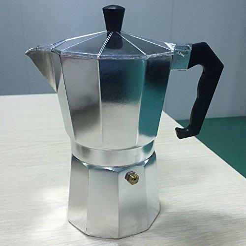 HermosaUKnight Aluminio Moka Pot Octangle Cafetera para café Moca ...