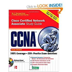 CCNA Cisco Certified Network Associate Study Guide (Exam 640-802) (Certification Press) Richard A. Deal