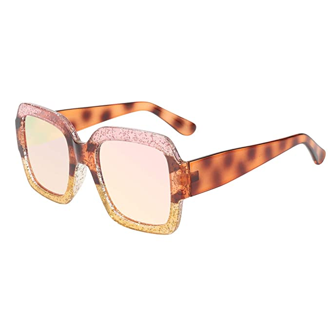 a8dadcc97c6 ROYAL GIRL Oversized Square Sunglasses For Women Multi Tinted Frame Brand  Designer Fashion Shades