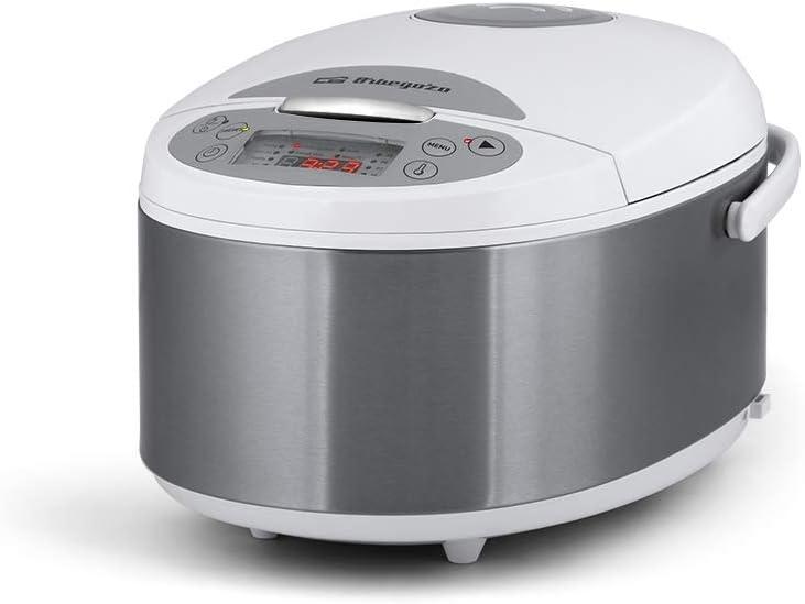 Orbegozo MCP 5000 - Robot de cocina, 12 programas de funcionamiento, 5 litros de capacidad, temporizador hasta 24 horas, 860 W de potencia.: Amazon.es: Hogar