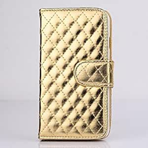 YULIN iPhone 6 compatible Solid Color/Special Design Case with Kickstand , Golden