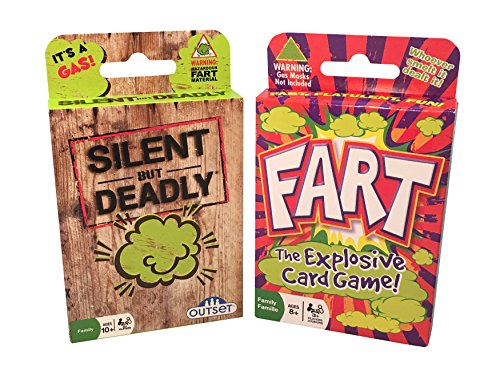 Fart Card Games with Silent But Deadly and Fart - The Explosive Card Game