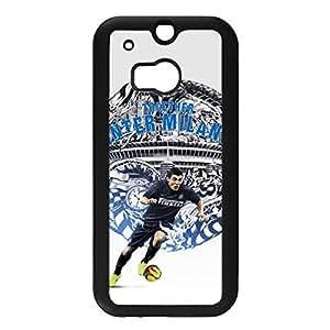 FC Internazionale Milano Logo Hard Plastic Mobile Phone Case Prevalent Back Case for Htc one M8