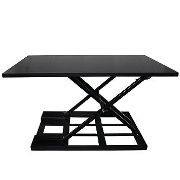Mesa jack convertidor de escritorio de pie - Altura ajustable ...