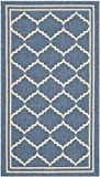 Cheap Safavieh Courtyard Collection CY6889-243 Blue and Beige Indoor/ Outdoor Area Rug (2′ x 3'7″)