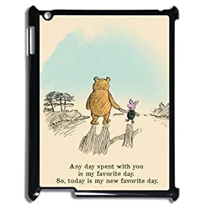 FOR Ipad 2/3/4 Case -(DXJ PHONE CASE)-Winnie The Pooh-PATTERN 9