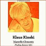 Klaus Kinski | Marcelle Clements