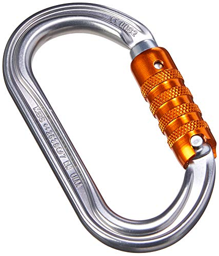 PETZL OK TRIACT-Lock Schraubkarabiner, Gray, One Size