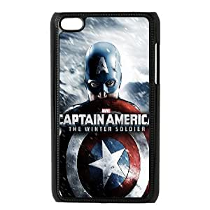 Generic Case Captain America For Ipod Touch 4 G7Y6658878